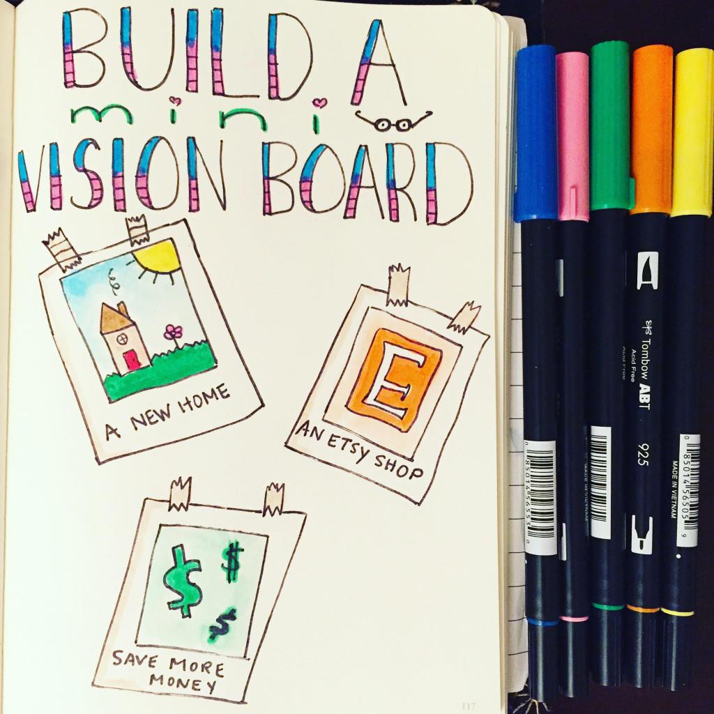 mini vision board