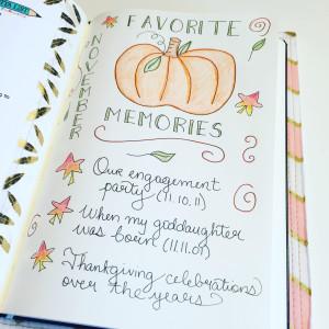 november memories