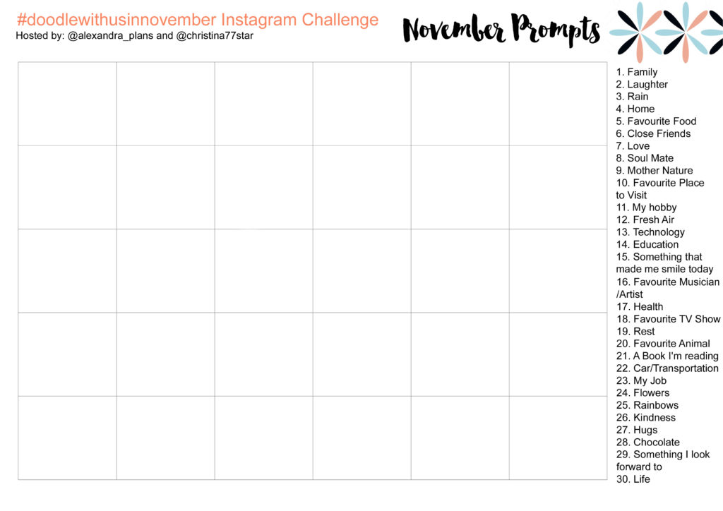 november-prompts-and-table-ig-challenge-doodlewithusinnovember