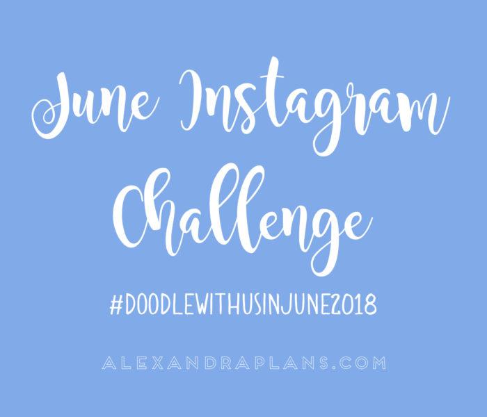 Instagram challenge: #doodlewithusinjune2018