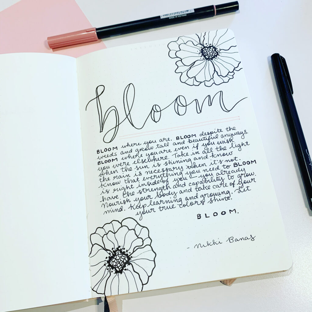 2021 Word of the Year: Bloom