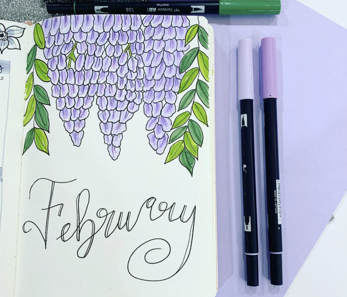 February 2021 Setup — Inspired by Bridgerton